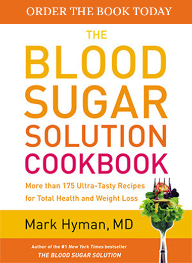 Order the Blood Sugar Solution Cookbook Today