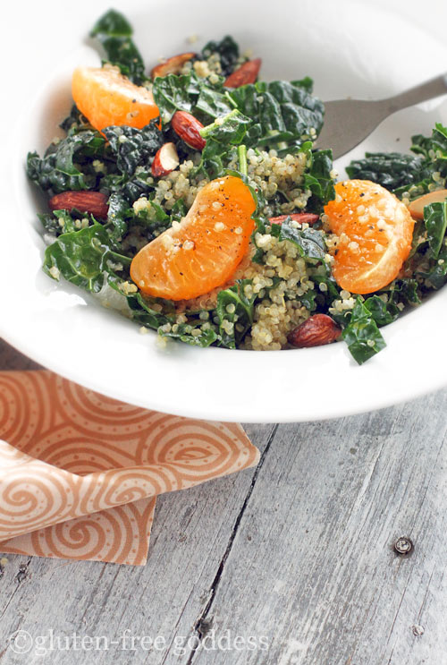 Roasted Quinoa with Kale and Almonds - Dr. Mark Hyman
