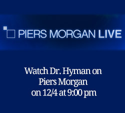 Watch Dr. Mark Hyman on Piers Morgan