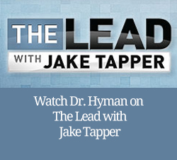 Watch Dr. Mark Hyman on The Lead with Jake Tapper