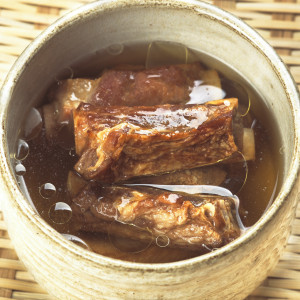 asian pork rib broth