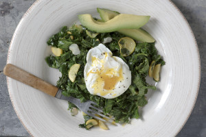Sauteed Greens & Poached Egg-21