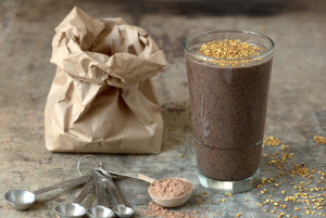 chocolate-blueberry-smoothie