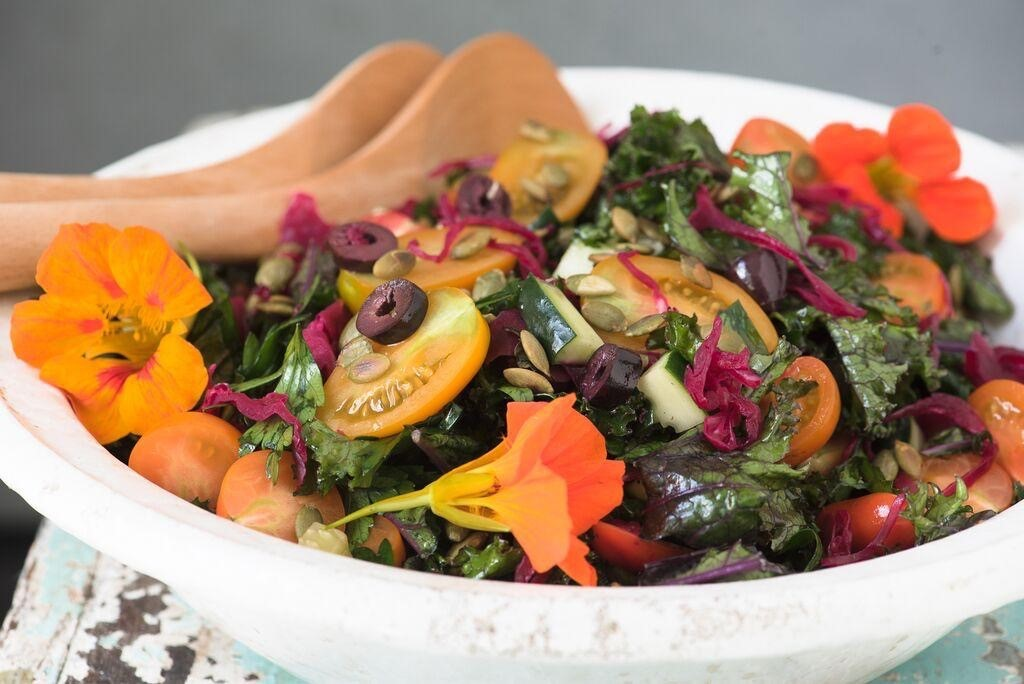Massaged Kale Salad - Dr. Mark Hyman