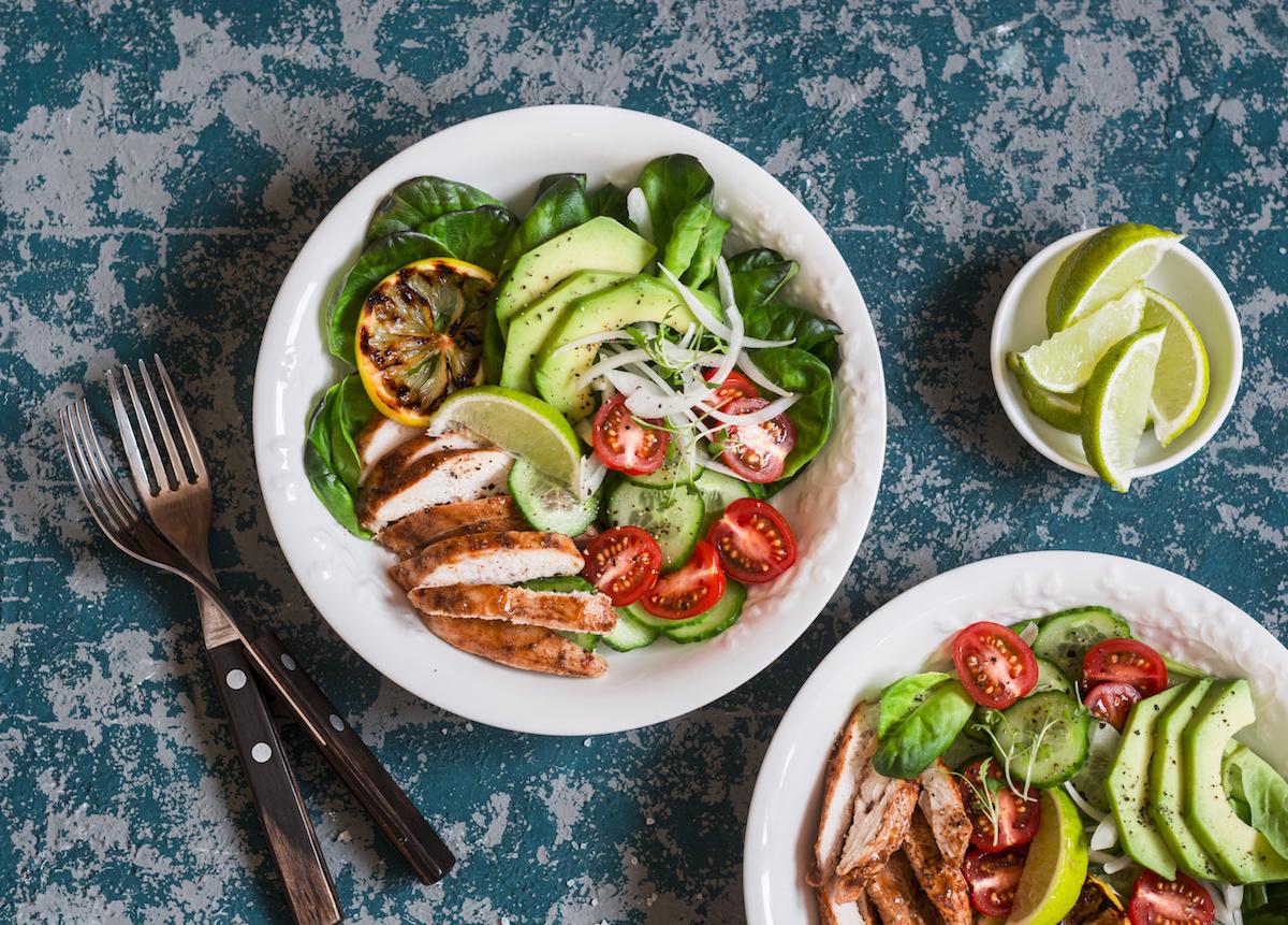 Dr Hymans Super Salad Bar